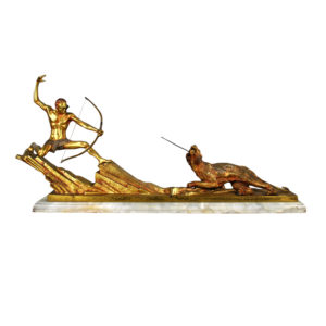 bow hunting bronze 1930