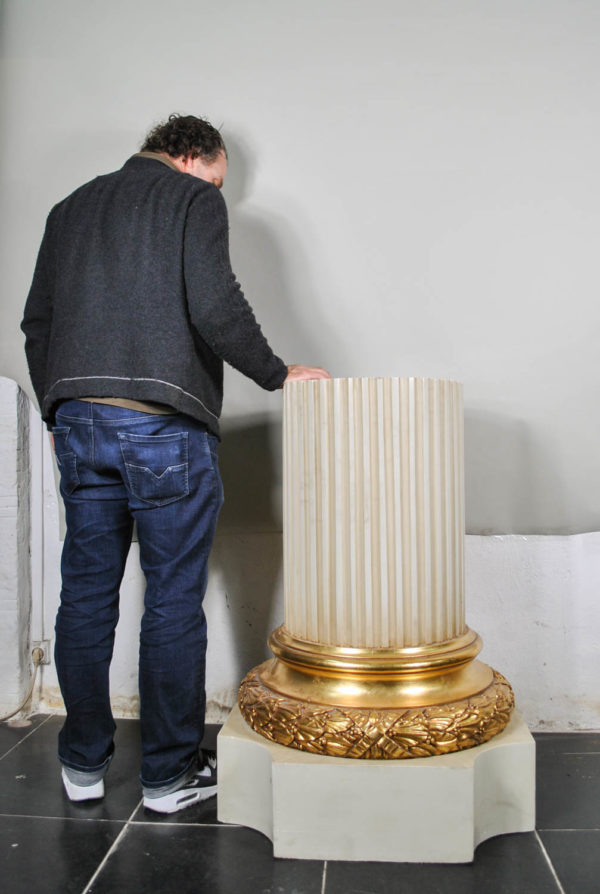 lacquered column size
